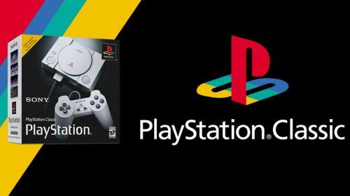 PlayStation Classic já é vendido por US$ 40 nos EUA; saiba mais