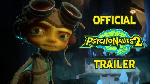 Psychonauts 2, jogo plataforma, recebe primeiro trailer oficial no TGA; assista