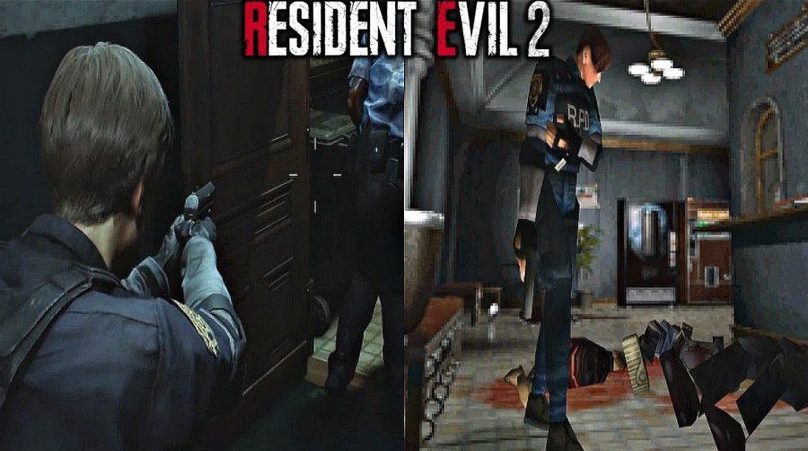 Incrível evolução: trailer de Resident Evil 2 compara clássico com remake