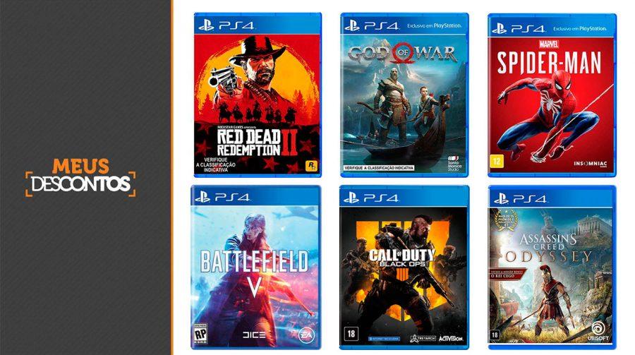 Compre os melhores jogos de 2018 e receba parte do dinheiro de volta!