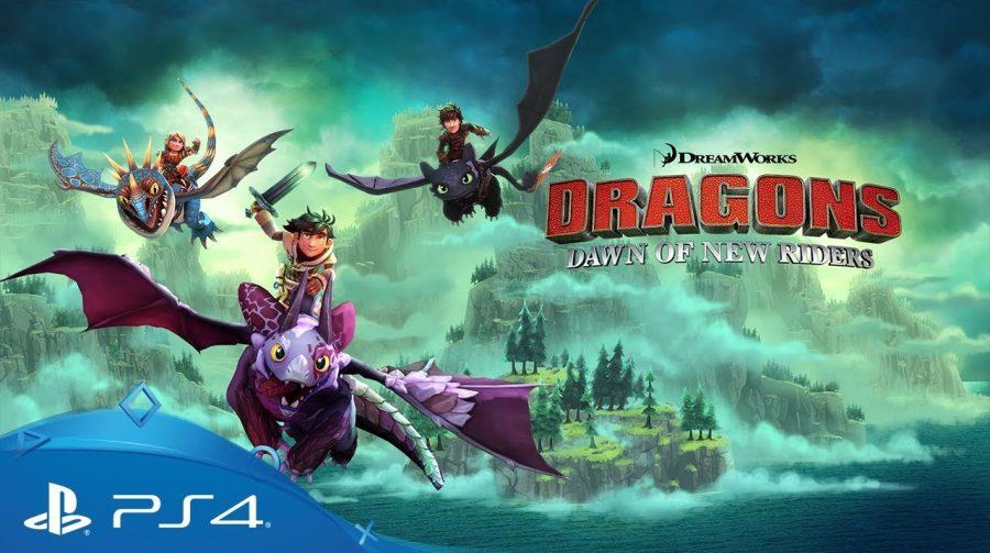 Dragons Dawn of New Riders chega em fevereiro ao PS4; veja gameplay