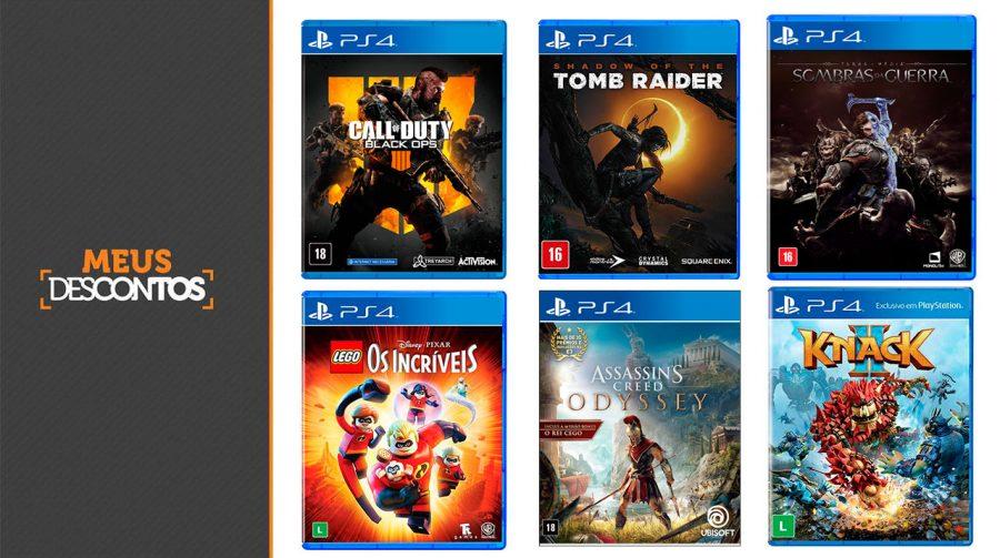 Ressaca Black Friday! Veja um saldão de 15 jogos de PS4