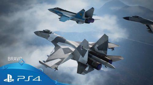 Notas que Ace Combat 7: Skies Unknown vem recebendo