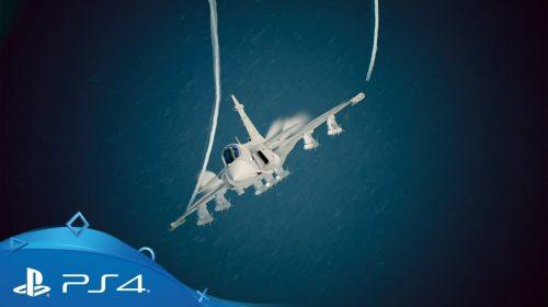 Ases Indomáveis: assista vários novos vídeos de Ace Combat 7