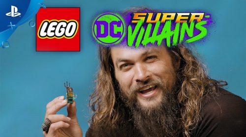 Aquaman, do filme, chega por DLC ao LEGO DC Super-Villains