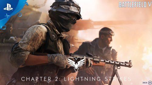 Battlefield V - Chapter 2: Lightning Strikes recebe trailer explosivo; assista