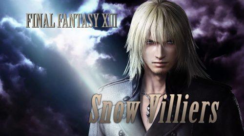 Snow Villiers será adicionado em Dissidia Final Fantasy NT