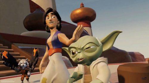 Versão pré-alfa mostra que Disney Infinity 4.0 seria um crossover insano
