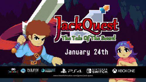 JackQuest: The Tale of the Sword chega em janeiro ao PS4; conheça