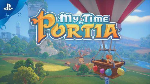 My Time at Portia, no estilo Harvest Moon, chegará no outono ao PS4