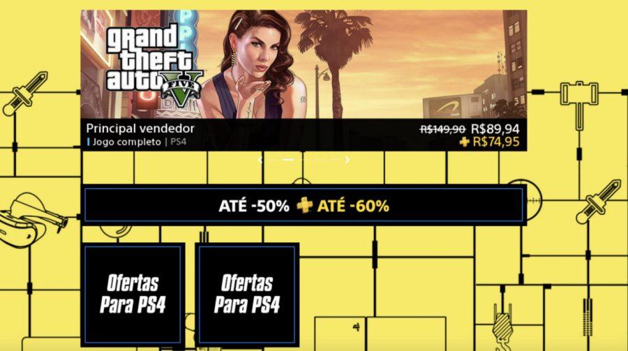 Até 60% de descontos! Sony lança promoção para assinantes PS Plus