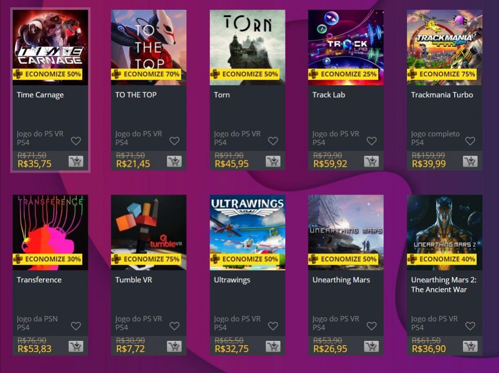 """Sony adiciona """"Ofertas Especiais"""" na PS Store; veja jogos 10"""