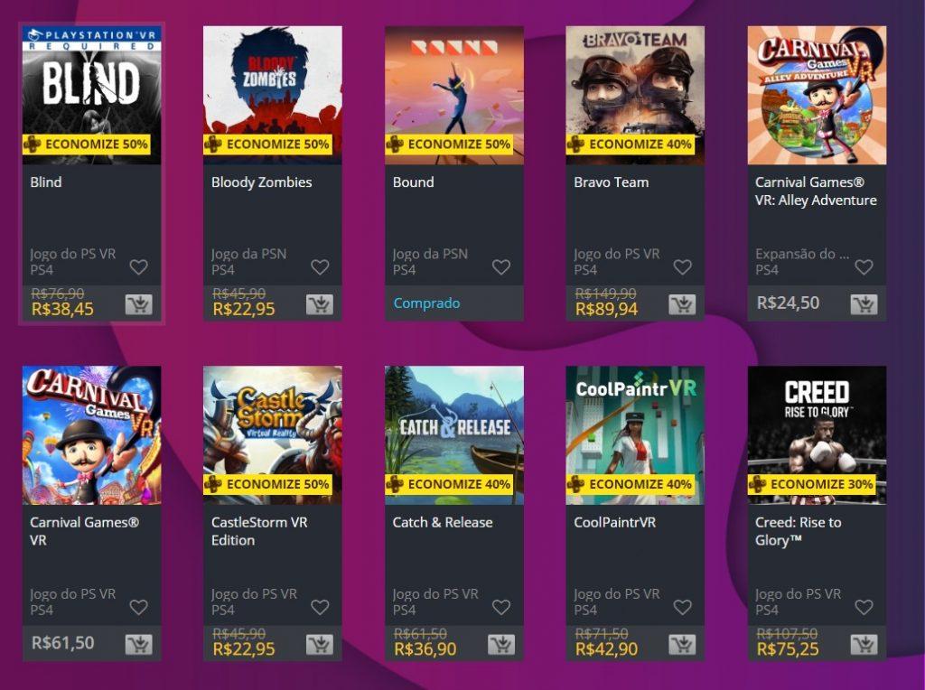 """Sony adiciona """"Ofertas Especiais"""" na PS Store; veja jogos 2"""