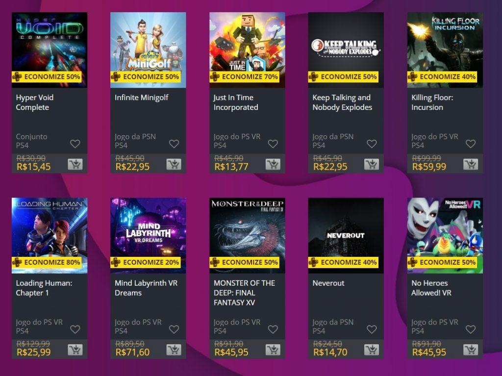 """Sony adiciona """"Ofertas Especiais"""" na PS Store; veja jogos 5"""