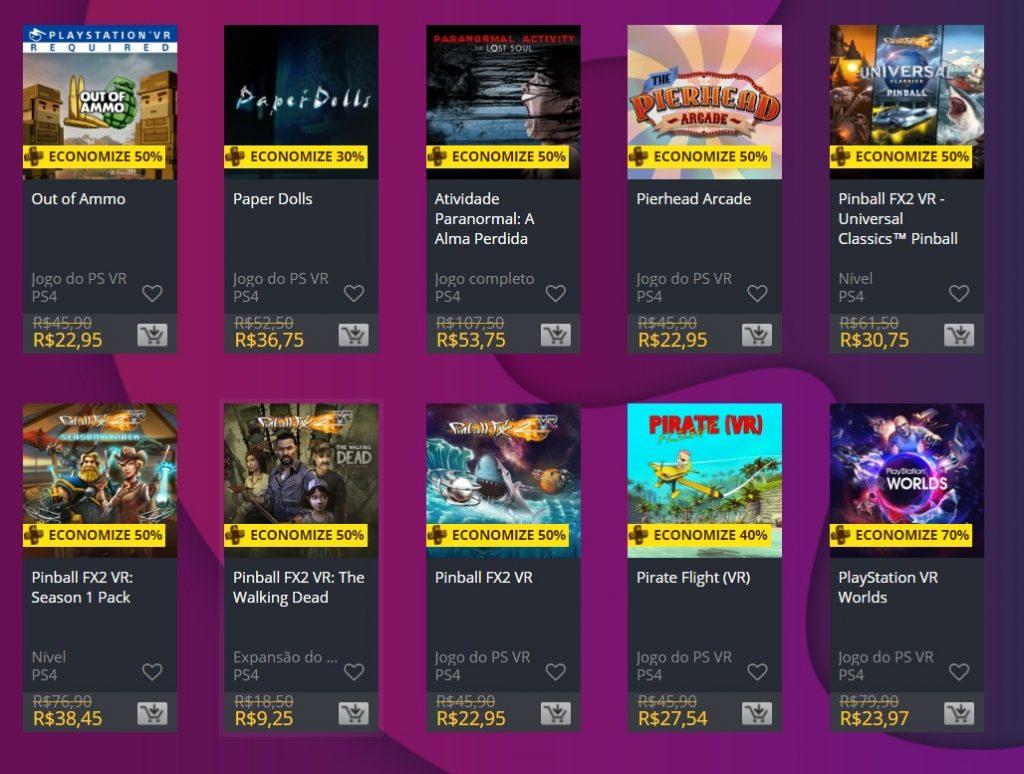 """Sony adiciona """"Ofertas Especiais"""" na PS Store; veja jogos 6"""