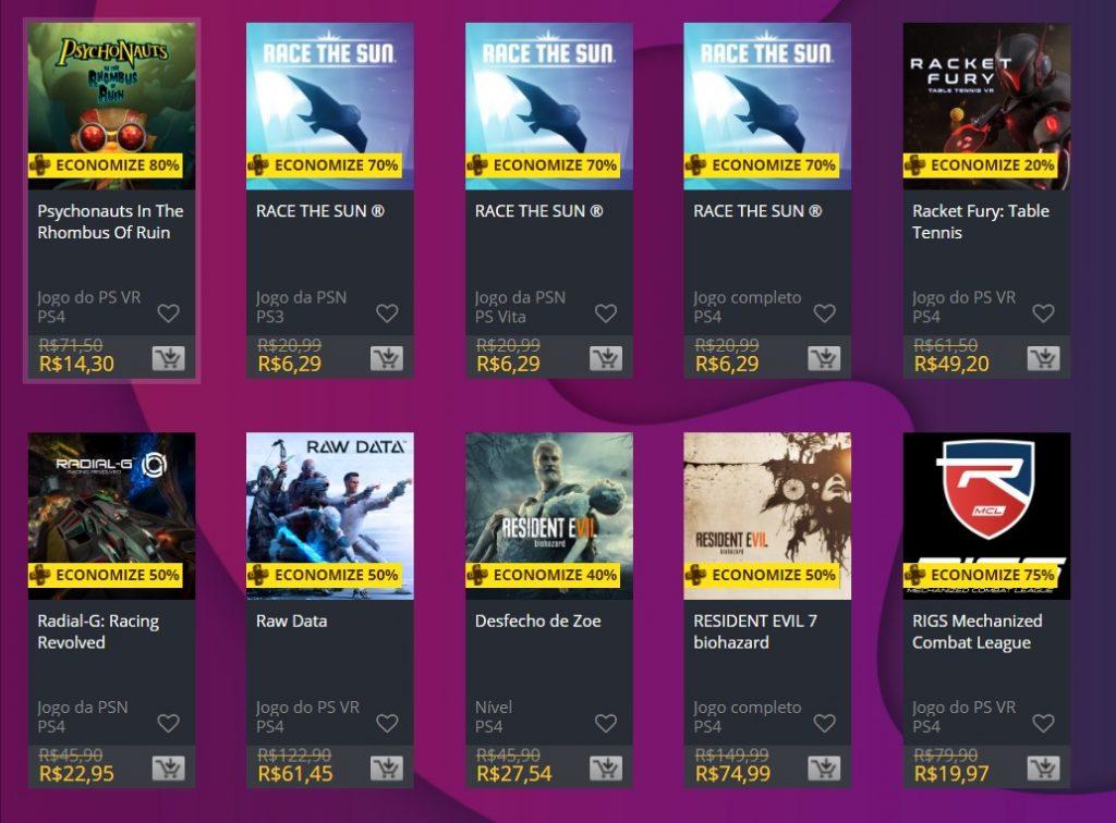 """Sony adiciona """"Ofertas Especiais"""" na PS Store; veja jogos 7"""