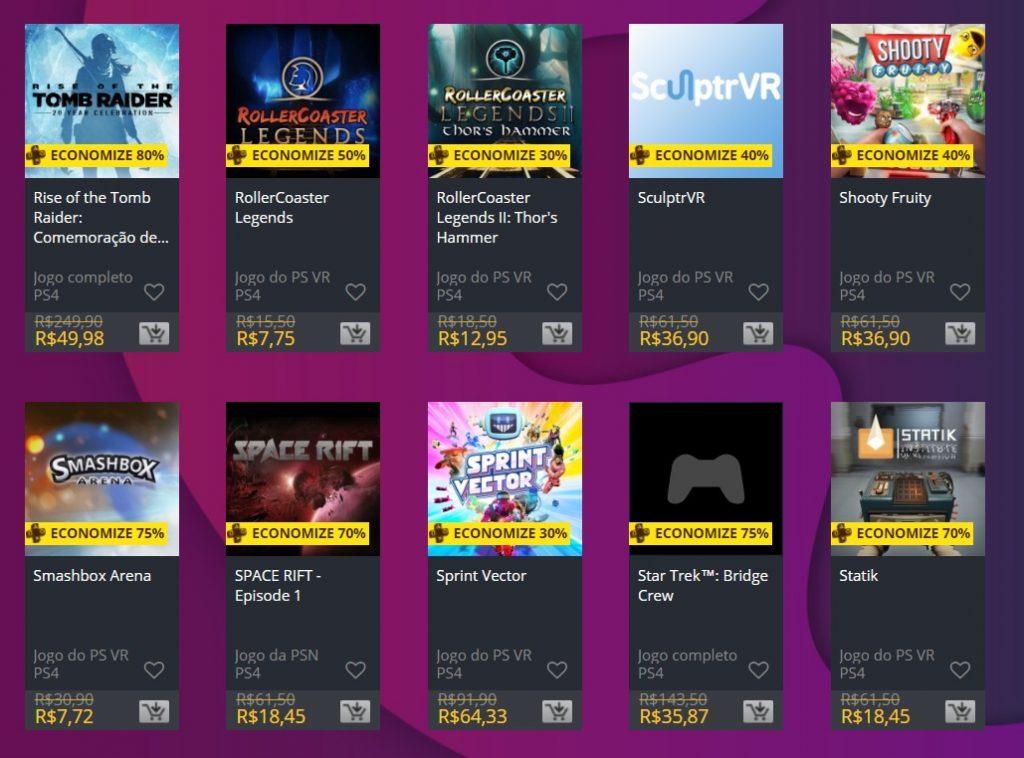 """Sony adiciona """"Ofertas Especiais"""" na PS Store; veja jogos 8"""