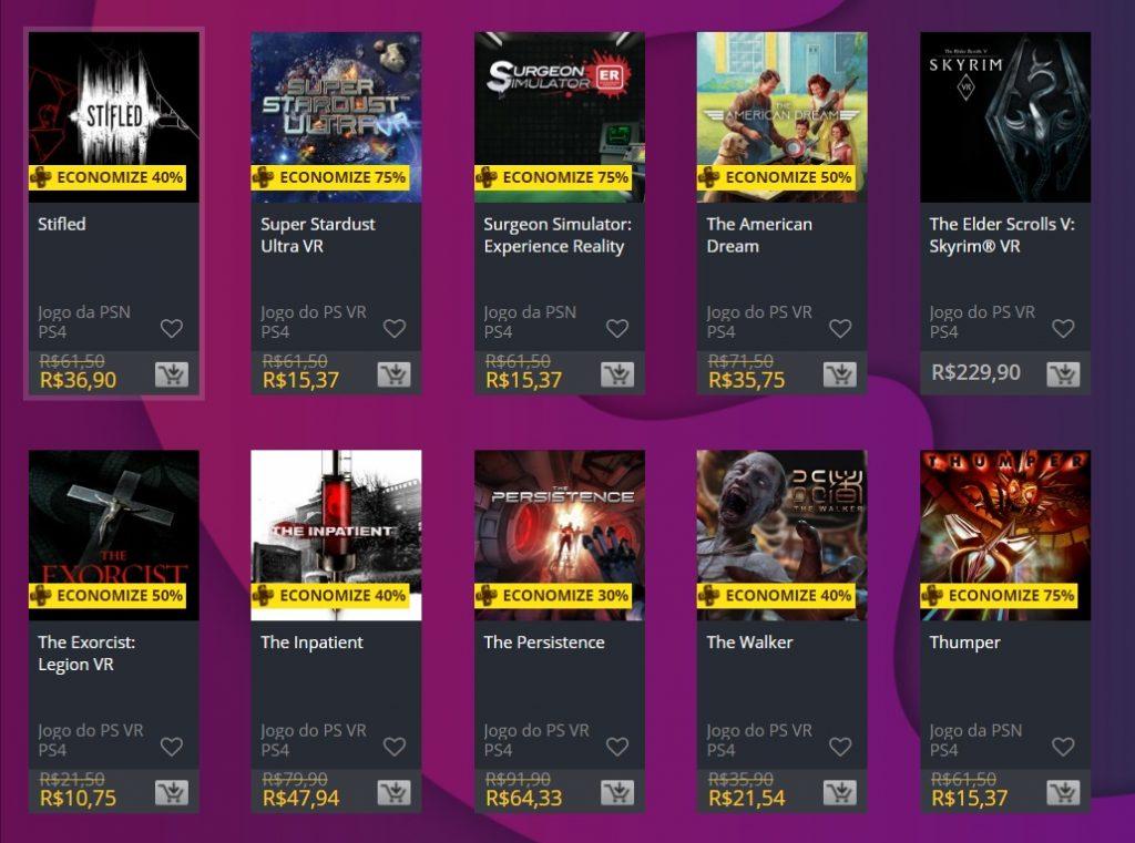 """Sony adiciona """"Ofertas Especiais"""" na PS Store; veja jogos 9"""