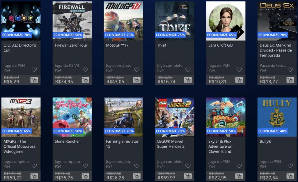 """Sony anuncia """"Promoção Flash"""" de Janeiro de 2019; veja jogos e preços 1"""
