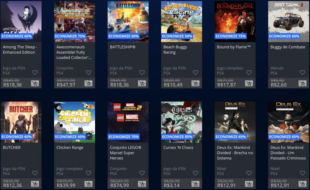 """Sony anuncia """"Promoção Flash"""" de Janeiro de 2019; veja jogos e preços 12"""