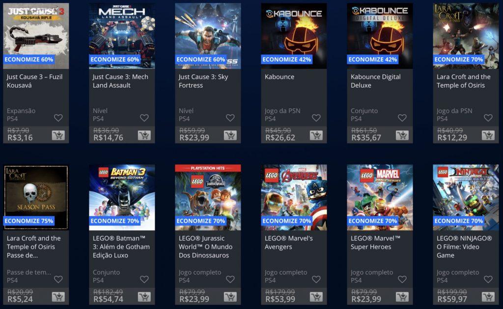 """Sony anuncia """"Promoção Flash"""" de Janeiro de 2019; veja jogos e preços 14"""