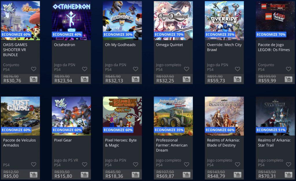 """Sony anuncia """"Promoção Flash"""" de Janeiro de 2019; veja jogos e preços 16"""