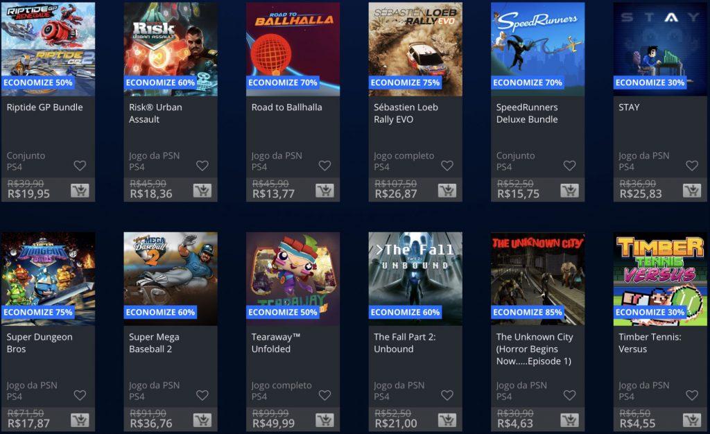 """Sony anuncia """"Promoção Flash"""" de Janeiro de 2019; veja jogos e preços 17"""