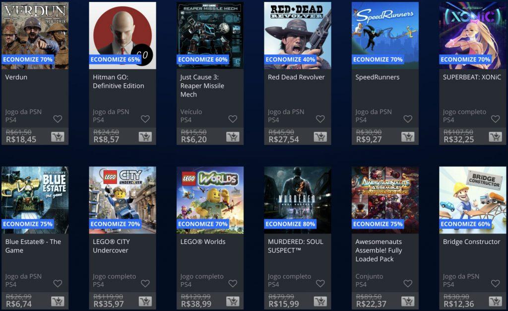 """Sony anuncia """"Promoção Flash"""" de Janeiro de 2019; veja jogos e preços 2"""