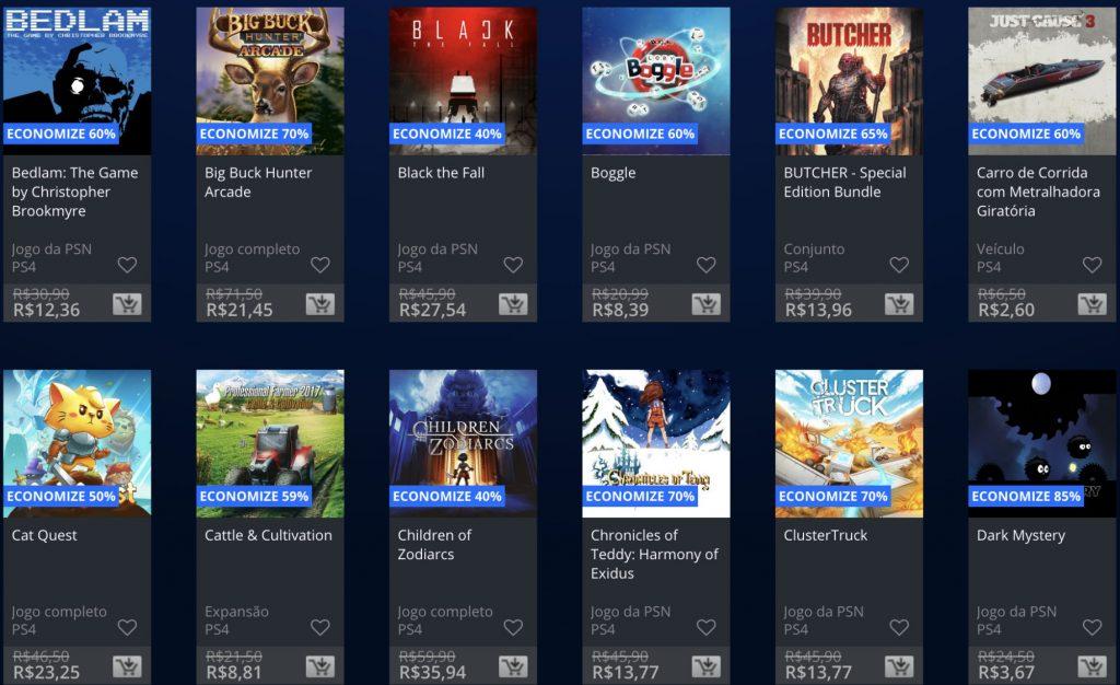 """Sony anuncia """"Promoção Flash"""" de Janeiro de 2019; veja jogos e preços 5"""