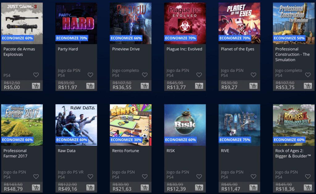 """Sony anuncia """"Promoção Flash"""" de Janeiro de 2019; veja jogos e preços 9"""