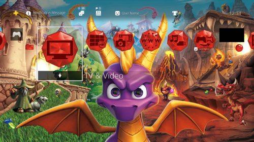 Sony libera tema dinâmico de Spyro de graça; confira como baixar