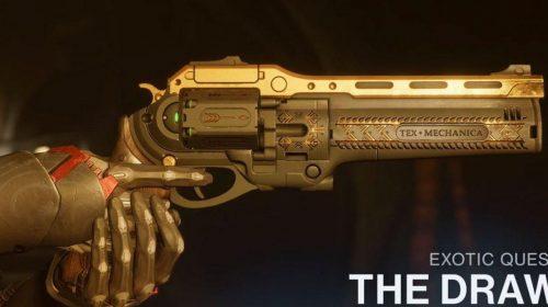 Queridinha no Destiny, pistola A Última Palavra volta hoje em Destiny 2