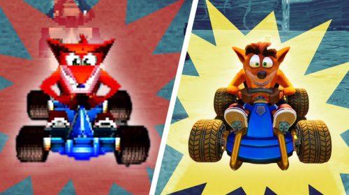 Crash Team Racing surgiu de uma