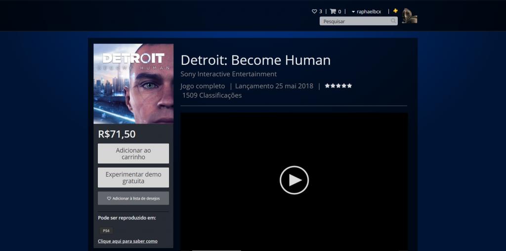 Spider-Man e Detroit: Become Human caem de preço na PS Store 1