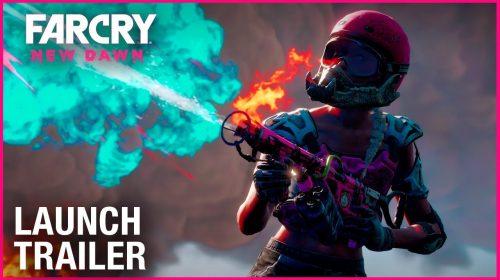 Trailer de lançamento de Far Cry: New Dawn mostra
