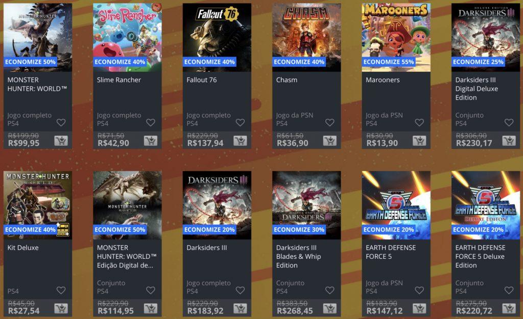 """Sony lança """"Promoção Flash"""" de fevereiro na PSN; confira jogos e preços 1"""