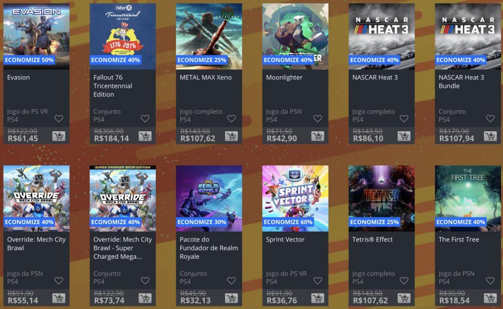 """Sony lança """"Promoção Flash"""" de fevereiro na PSN; confira jogos e preços 2"""