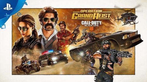 Operation Grand Heist é o novo DLC de CoD: Black Ops 4; veja o trailer