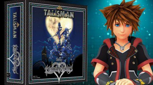Kingdom Hearts vai ganhar jogo de tabuleiro em 2019