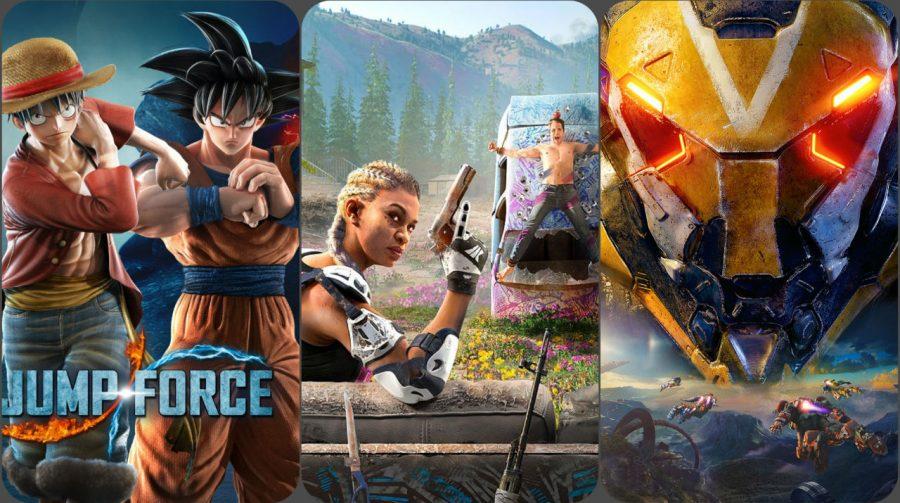Lançamentos de Fevereiro de 2019 para PS4, PS Vita e PSVR