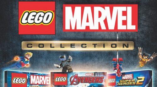 LEGO Marvel Collection é anunciado; Pacote virá com 3 jogos