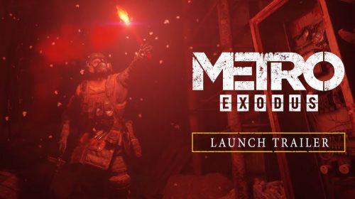 Metro Exodus recebe intenso trailer de lançamento; assista