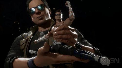 Johnny Cage é confirmado em Mortal Kombat 11; Veja gameplay