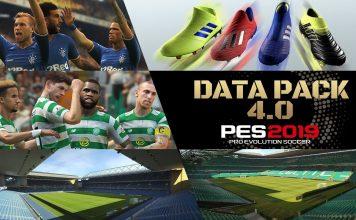 PES 2019 DATA PACK 4.0