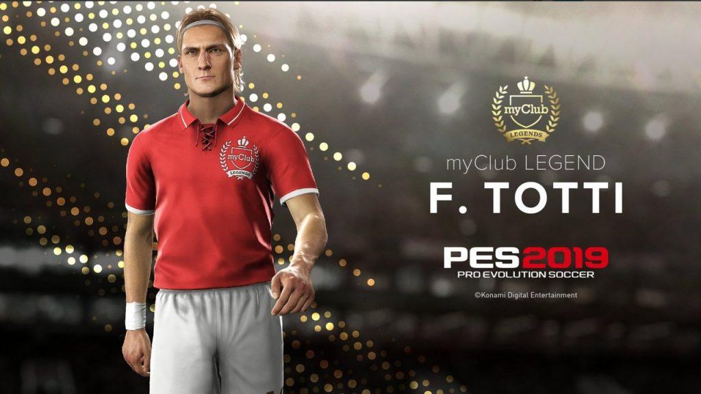PES 2019 - Totti