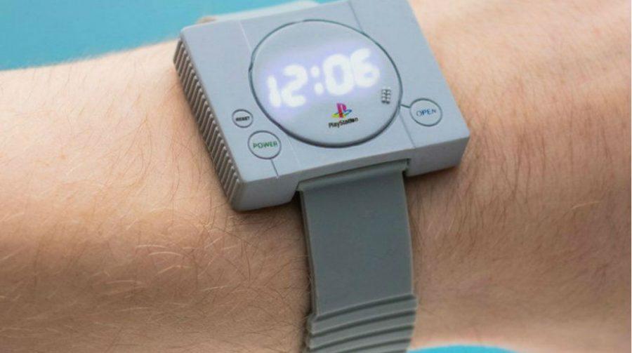 É hora do Play! Sony vai lançar relógio com design do PlayStation 1