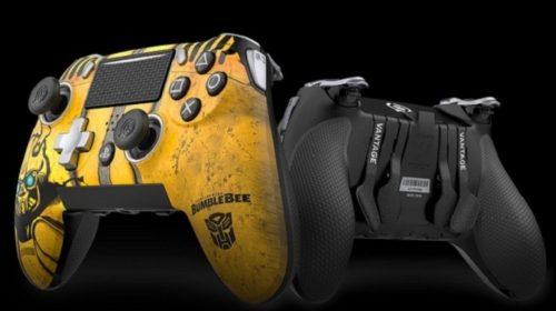 SCUF anuncia controle temático de Bumblebee para PS4