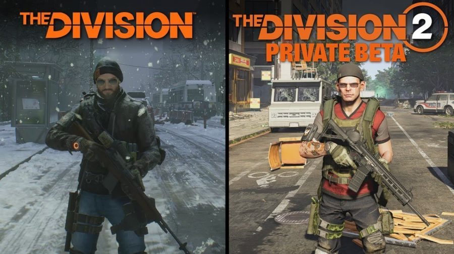 Vídeo compara BETA de The Division 1 e 2; BETA aberto