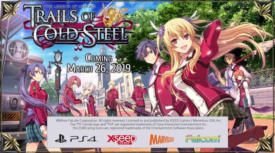 Trails of Cold Steel vai chegar em 26 de março; conheça o game