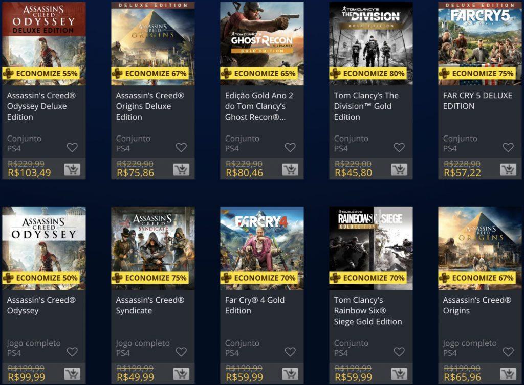 Sony e Ubisoft lançam promoção de jogos na PSN; confira 2
